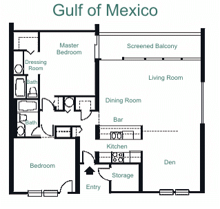 Sundail Resort K405 Floorplan